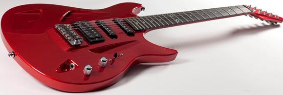 Guitarra Aristides Instruments 010 primeiro modelo criado por Aristides Poort