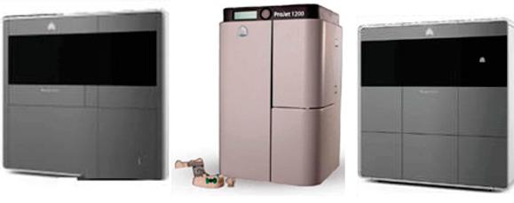 Impressoras da 3D Systems a serem lançadas na 3D Inside Printing são voltas ao mercado profissional