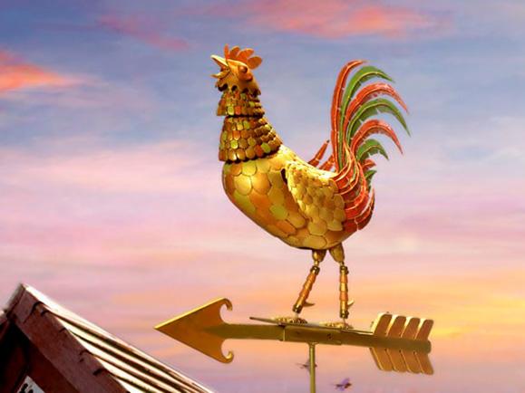 O galinho Bené que marcou presença nas chamadas para o lançamento da novela e de vez em quando ressurge em momentos importantes da novela foi idealizado pelo próprio diretor da novela Luiz Fernando Carvalho