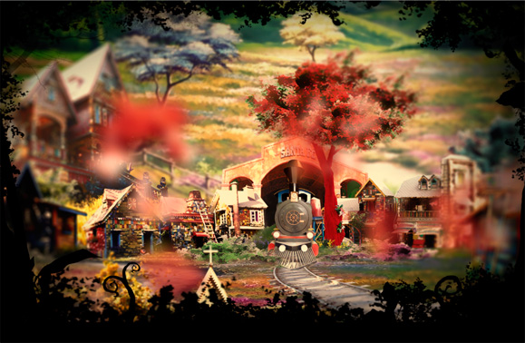 A inspiração para a criação da abertura da novela veio dos mangás japoneses, videogames e animações