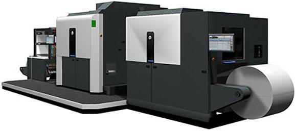 Indigo 20000 imprime embalagens flexíveis, etiquetas e rótulos termoencolhíveis em filme ou papel