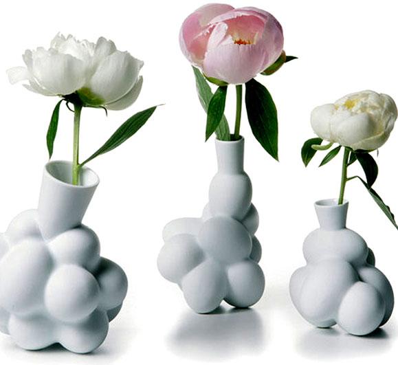 Vasos Eggs apresentados na mostra Promenade - Um passeio pelo design holandês