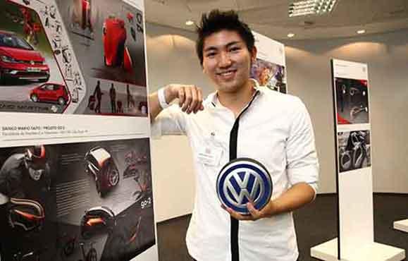 Danilo Makio Saito conquistou o 1º lugar com o projeto Go - 2 Concept