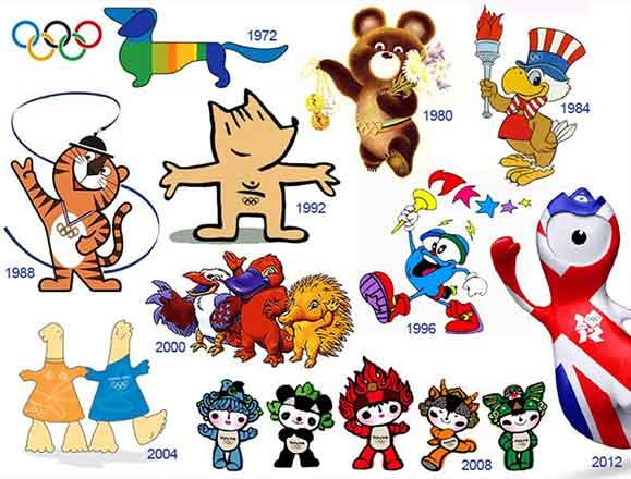 Conheça os diversos mascotes que foram criados a partir de 1980 quando foi lançado o Misha