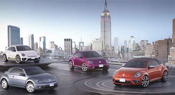 Quatro Fuscas conceito apresentados em New York indicam caminhos de possíveis novas versões