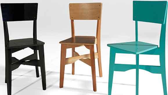 Cadeira ZIP foi projetada para atender o mercado de venda on-line, facilitando a distribuição