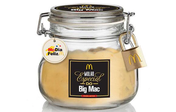Meu Molho Especial terá venda limitada com embalagens numerada para promover o McDia Feliz