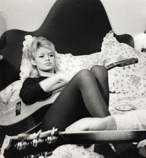 Brigitte Bardot em foto de Luc Fournol (cortesia)