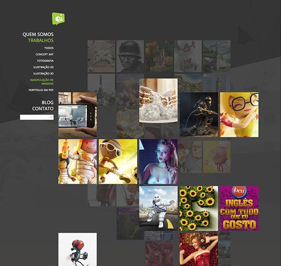 Site desenvolvido pelo Reino Studio para o Estúdio Ícone