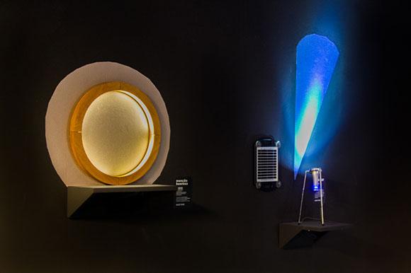 Luminárias chamam a atenção da mostra do do 29º Prêmio Design MCB