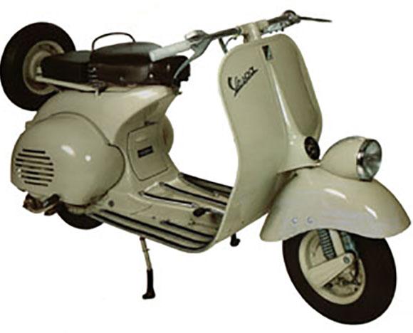 Vespa lançada em 1953 se tornou ícone do design italiano