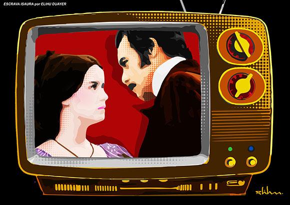 Escrava Isaura (Lucélia Santos e Rubens de Falco) por Elihu Duayer